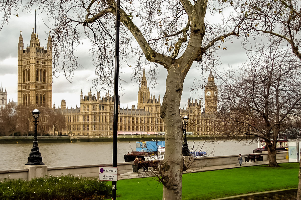 The Parliament from across Thames
