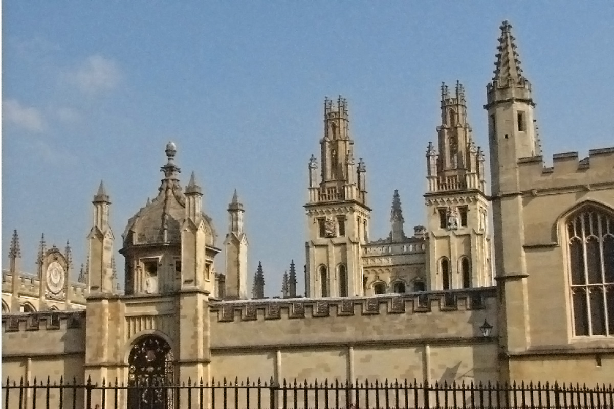 An Oxford college