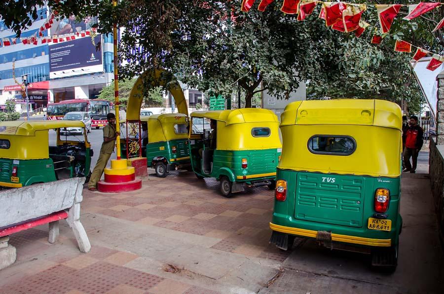 Tuk-tuk depot, Bangalore