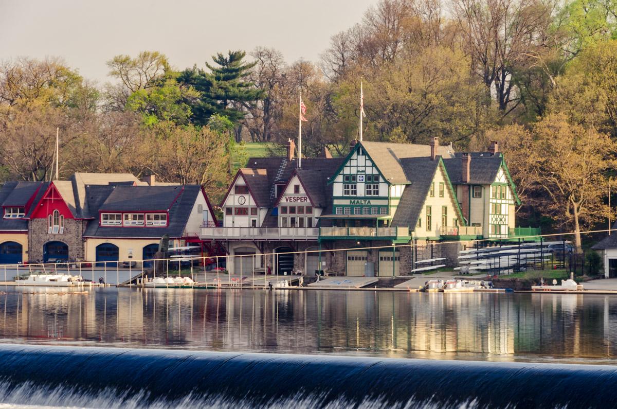 Boathouse Row, Philadelphia, PA