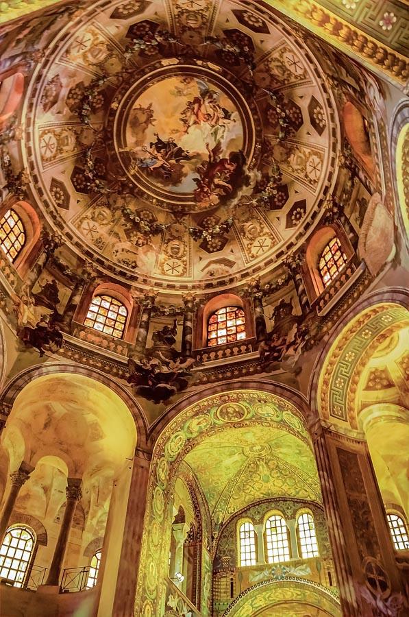 Inside Basilica di San Vitale, Ravenna, Italy