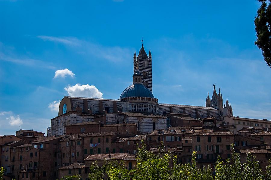 Siena view from near San Domenico