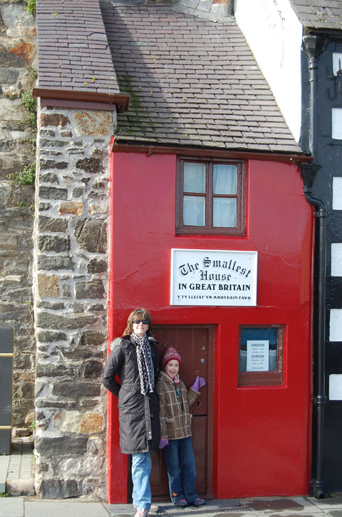 The Smallest House in Britain, Conwy, Wales
