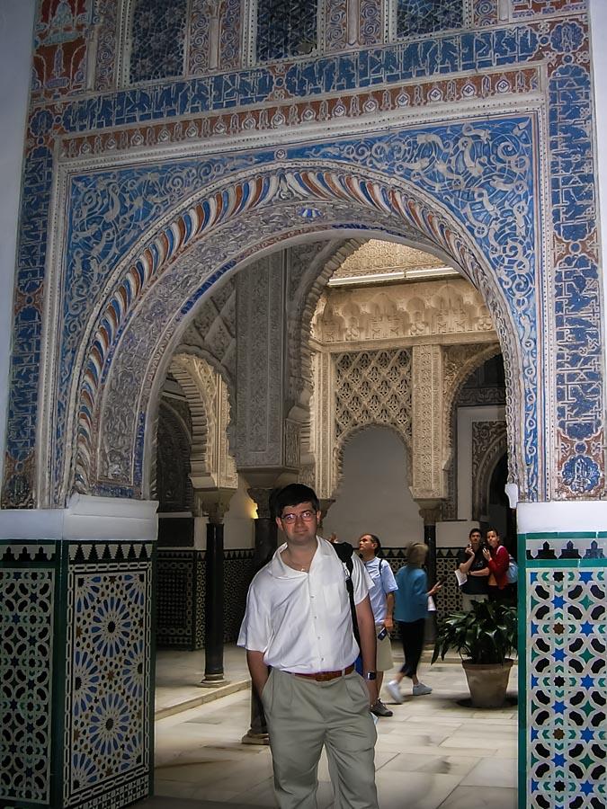 In Alcazar, Sevilla, Spain