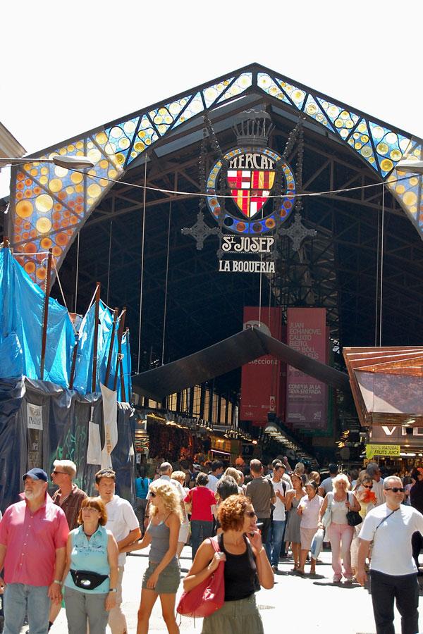 Mercat St Josep, Barcelona