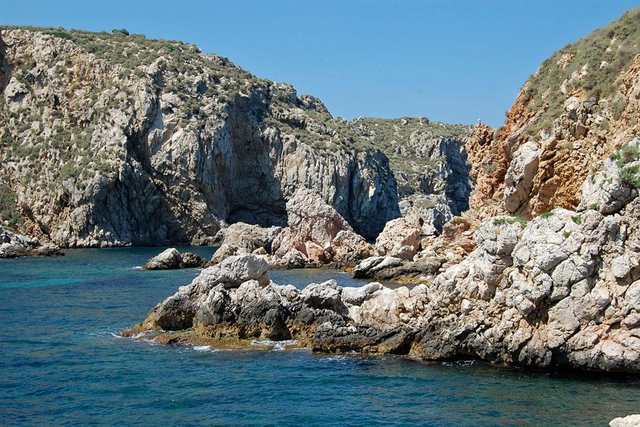 Illes Medes, Costa Brava, Spain