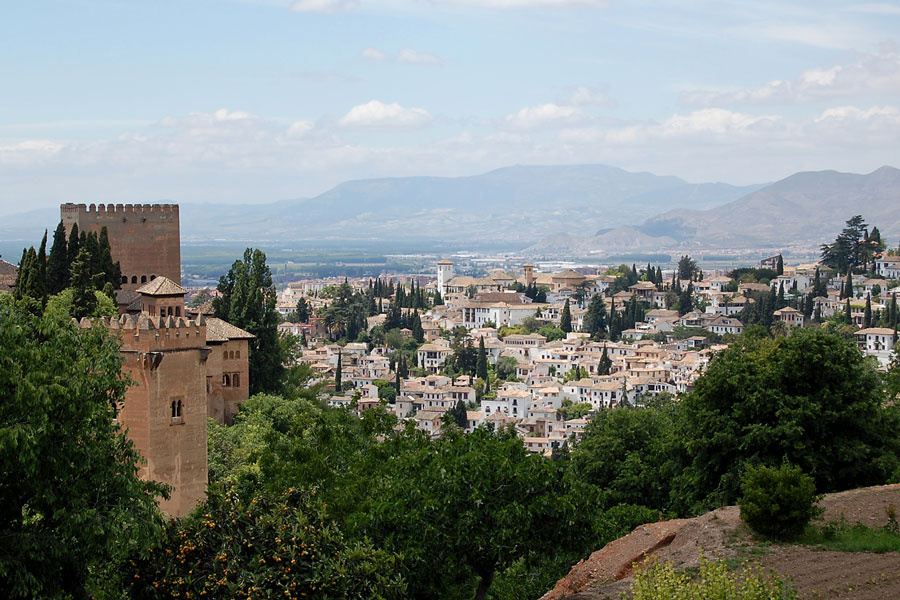 View to Albaicin from Generalife