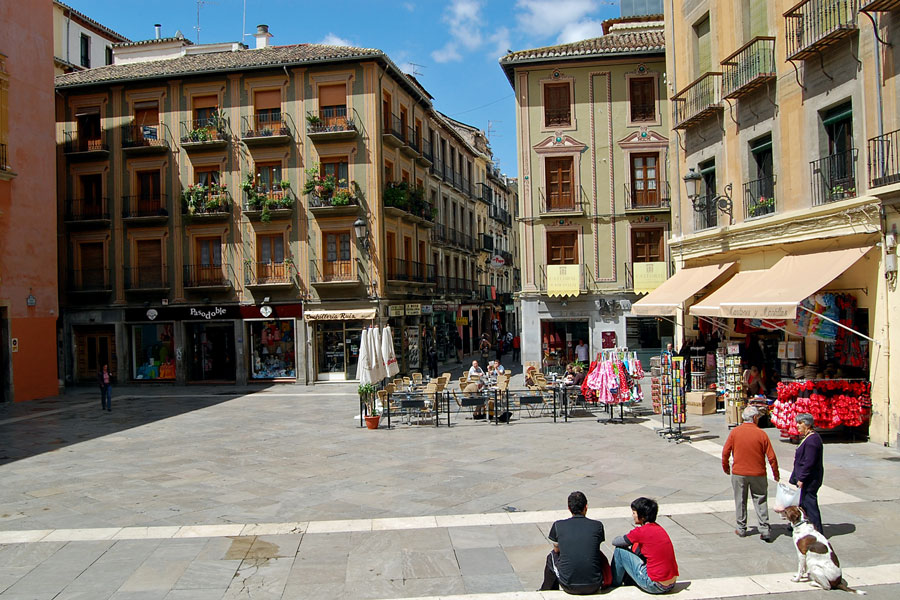 In the Old Town, Granada