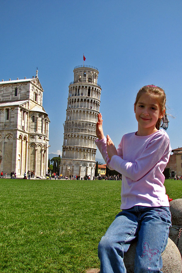 Propping up the Leaning Tower of Pisa