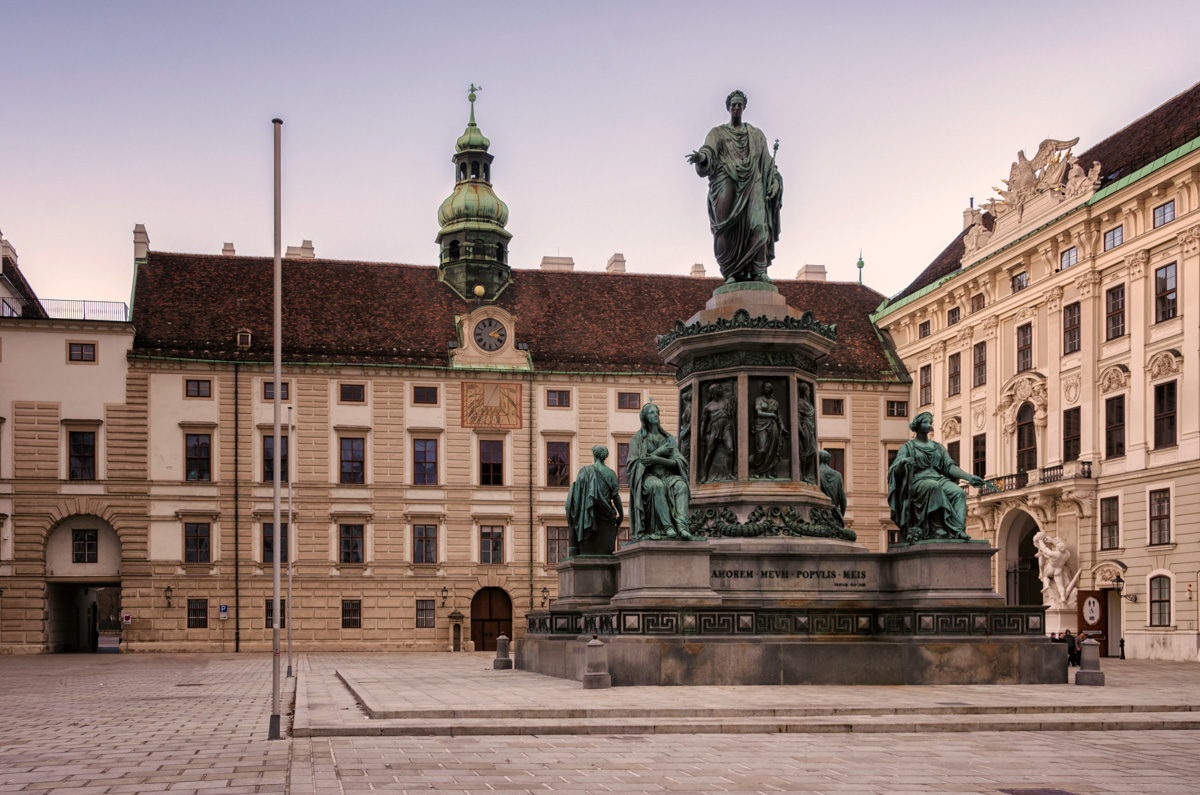 In der Burg, Vienna